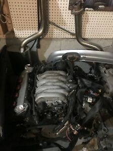 Audi S4 4.2 V8 Complete Motor w Harness and ECU