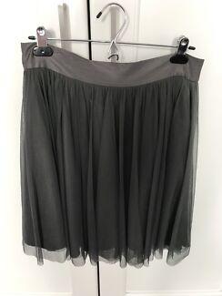 Third Millennial (Lisa Ho) Tule Skirt Grey Sz12