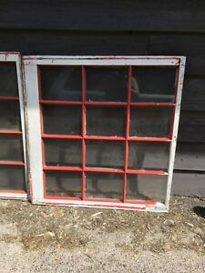 Antique 12 pane window