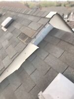 Roof repair & eavestrough