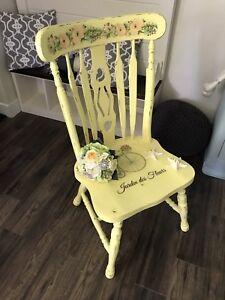 Beautiful Refurbished Vintage Chair