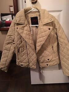 Brand new quilted girls jacket