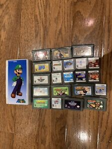 Ds and game boy games