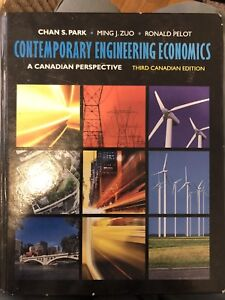 Contemporary Engineering Economics (Third Canadian Edition)