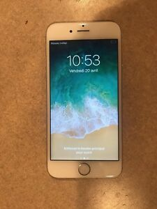 iphone 6s good condition white with all accessories
