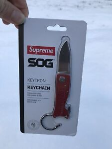 SUPREME SOG KNIFE