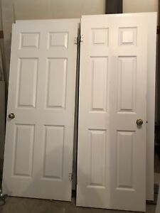 Interior Wood Doors Perfect Condition With Hardware