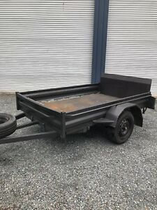 Golf cart buggy quad mower trailer