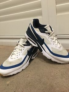 Nike air max BW Ultra ( White  47  Armory navy - industrial blue US ... 2c1b19b05