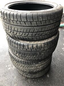 235/40/18 Cooper Zeon Summer Tires All Four $380
