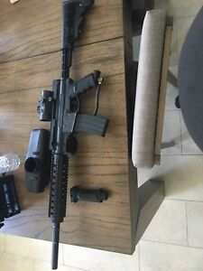 Paintball gun Tippmann a-5 old gen