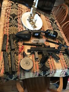 Milsig smg and accessories