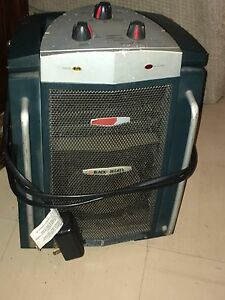 Adjustable electric heater