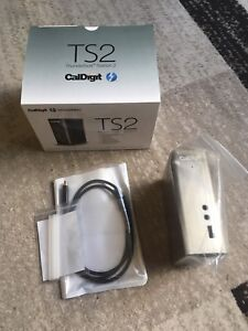 Thunderbolt 2 Dock CalDigit TS2 with TB2 Cable