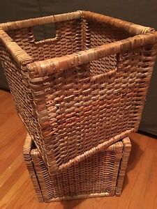 IKEA Wicker Baskets