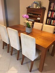 Solid Iron Bark Dining Table