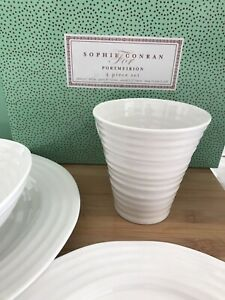 Sophie Conran white dishes.  New in Boxes