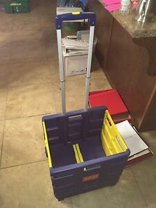 Tote-All  Mobile Collapsible Storage  Crate