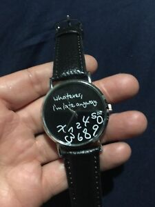 Watches never used