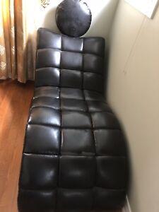 Lounge leather like chair