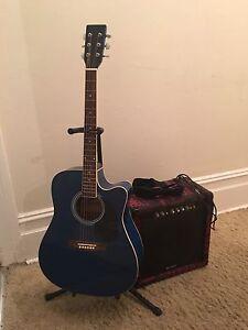 Acoustic electric guitar Hamilton Newcastle Area Preview