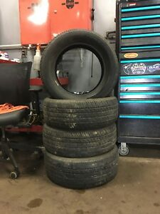 4 Firestone FR710 Tires 215/60r16