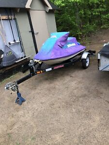 Sea doo xp on trailer and 3 seater to go with for parts