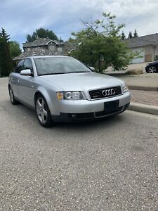 2002 Audi A4 Quattro AWD LOW KMS fully loaded