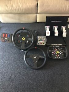 Thrustmaster T500RS PS4/PC steering wheel with button box