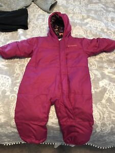 Columbia 6-12month snow suits