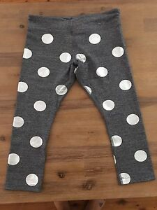 Grey with silver spots Lorna Jane tights Bolton Point Lake Macquarie Area Preview