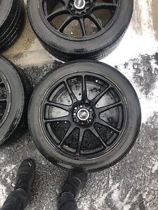 Mag et pneu 17 pouce 5x100 / 5x114.3