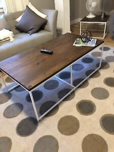 Brand new coffee with nesting table