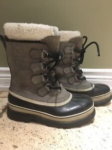 SOREL's men's boots (nubuk leather) 9