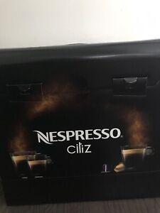 Nespresso Citiz noir neuf
