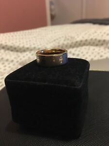 18k plated gold ring