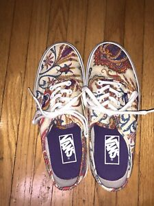 Vans limited edition liberty sneakers