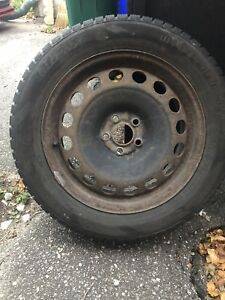 SNOW TIRES  on Rims Size correction 205/55/R16