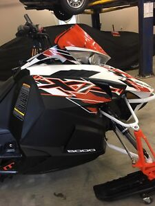 2015 XF8000 cross country.  SNOWS HERE!! REDUCED PRICE