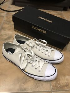 Leather white chuck taylor all stars