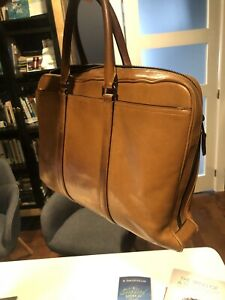 Brown Coach Briefcase/Bag