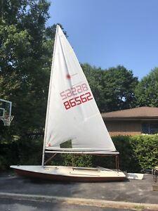 Older Laser sailboat wanted.