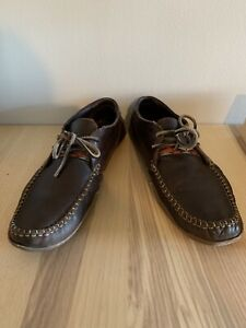 Men's leather loafers size 10