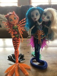 Mermaid Monster High Dolls Lot 1