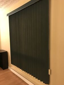 Apartment fit darkening blinds, easy to be set up