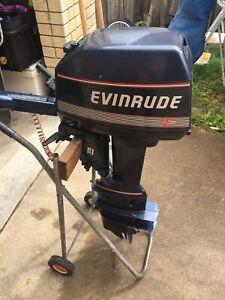 Evinrude 8HP long shaft motor