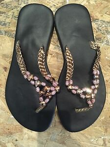 Women's size 9 beaded sandals