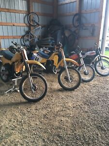 Looking for older fixed upper dirtbikes and trikes