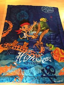 Jake and the Neverland Pirates Twin Comforter with pillowcase