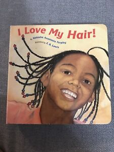 I love my Hair board book for baby / toddler